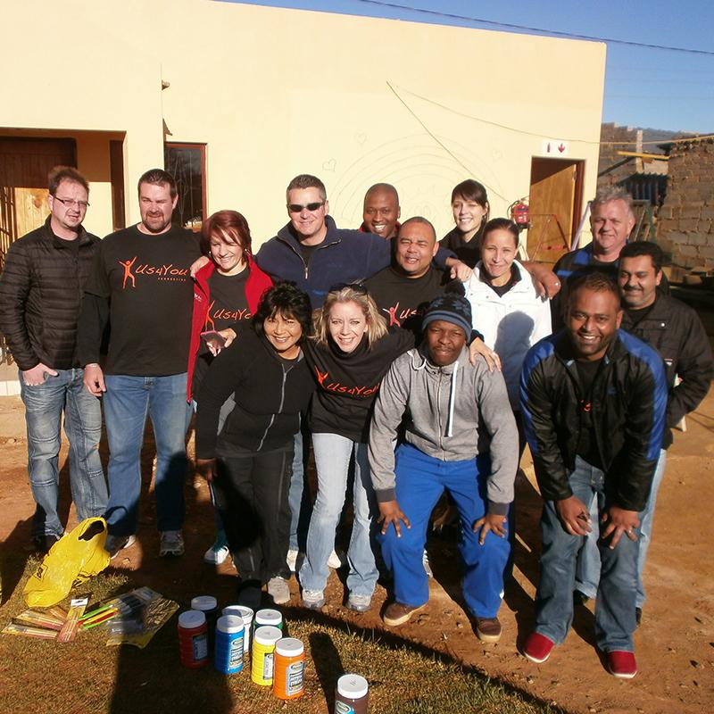 Mandela Day 2015 - Day #2 - The Us4You Foundation